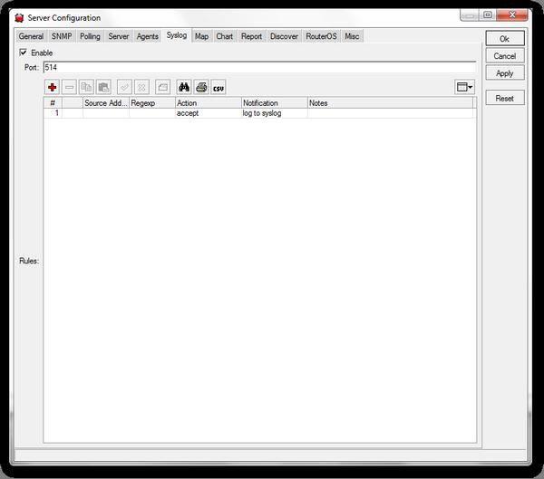 Manual:The Dude/Server settings - MikroTik Wiki