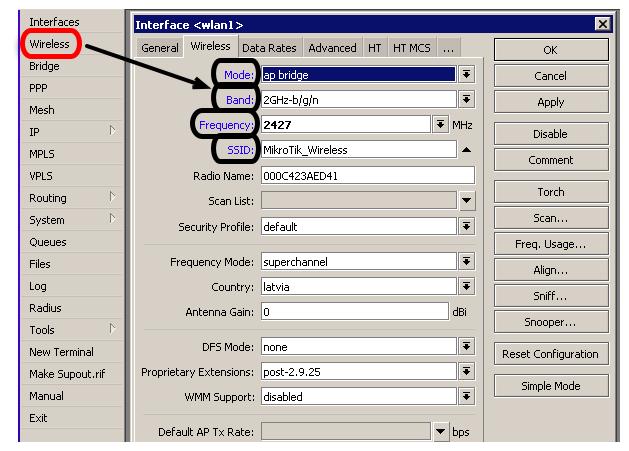 Manual:Wireless AP Client - MikroTik Wiki