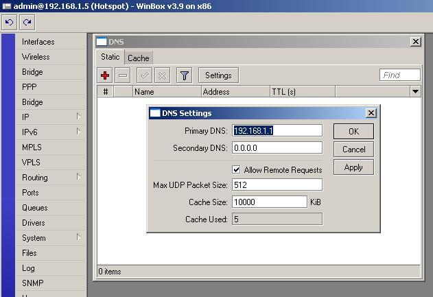 Hotspot server setup - MikroTik Wiki