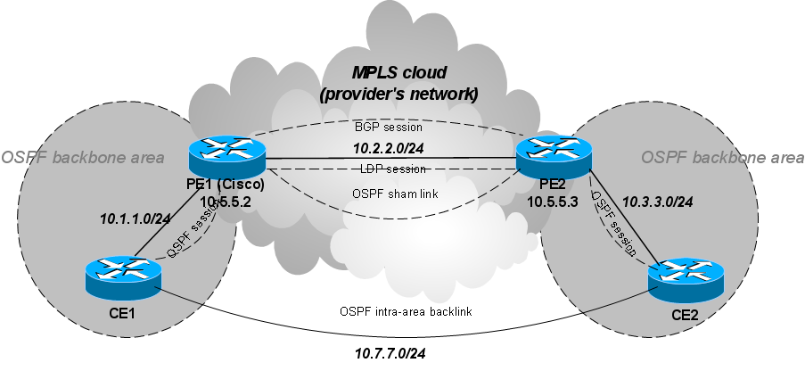 Ospf-pe-ce-sham-links.png