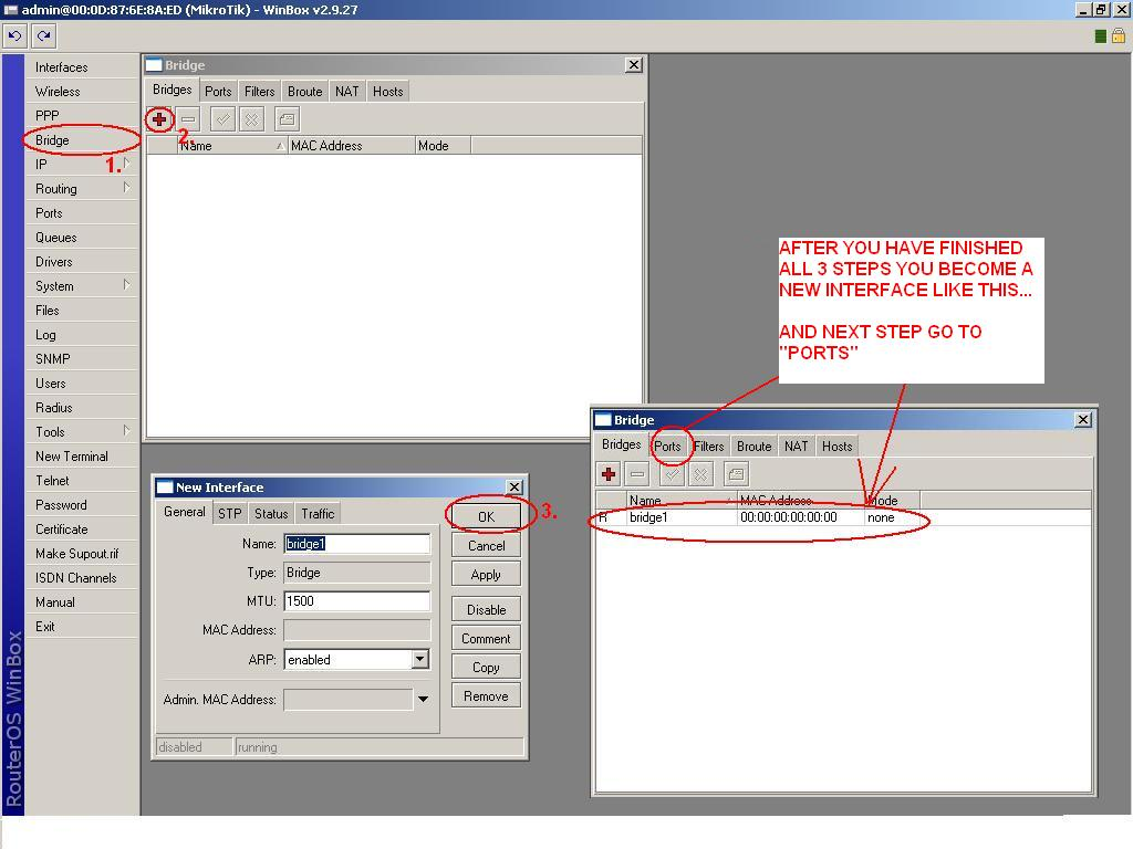 How to set wireless client and Ethernet - MikroTik Wiki