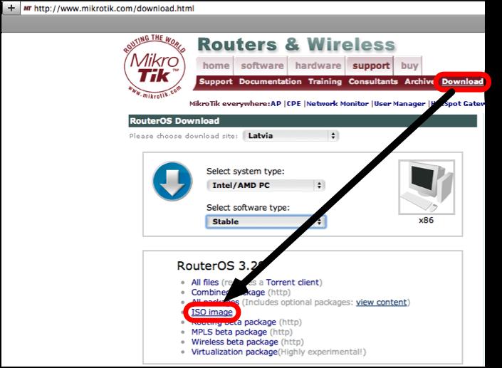 manual cd install mikrotik wiki rh wiki mikrotik com HP SmartStart CD ISO Windows 7 ISO