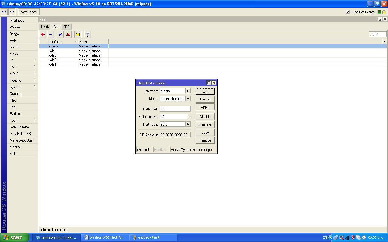 Wireless WDS Mesh Network – …::: ClusterWeb® – Internet Data