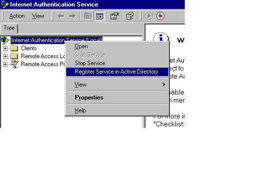 การทำ AAA with Active Directory (Windows Server)