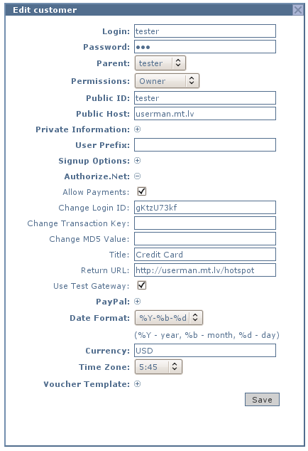 User Manager/User payments - MikroTik Wiki