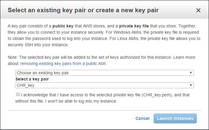 Manual:CHR AWS installation - MikroTik Wiki